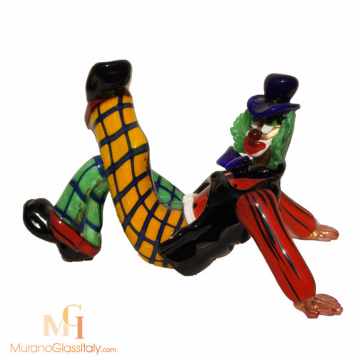 clown verre murano