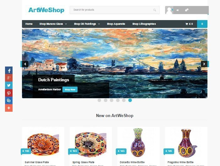 ArtWeShop_website