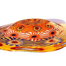 Murano Glass Plate Summer