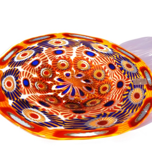 Murano Glass Plate Summer
