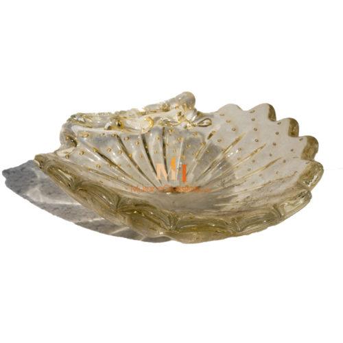 murano glass plate