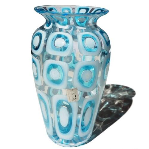 Murano Glass Vase Ocean