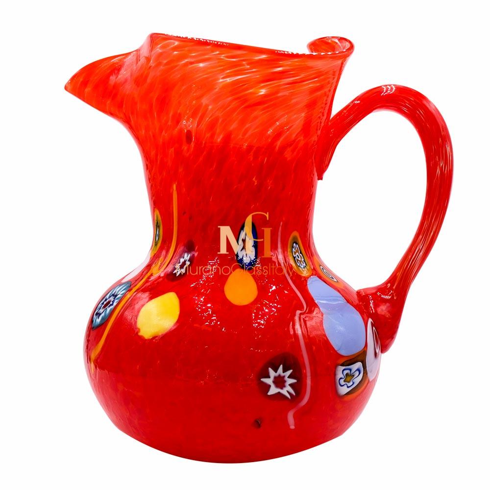 murano glass carafe