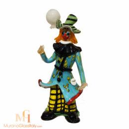blown glass clown