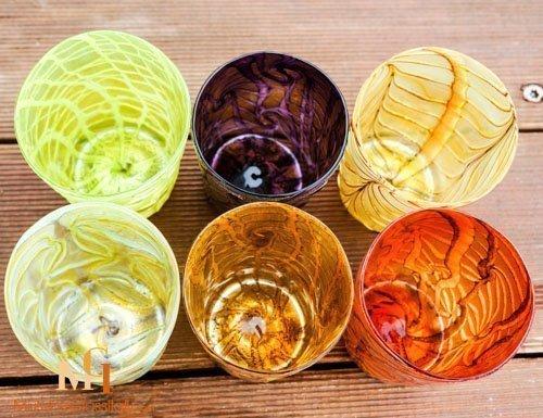 murano glass set