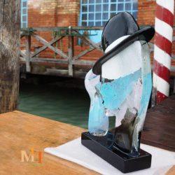 Jacko glass sculpture art