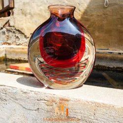 vase ancien verre