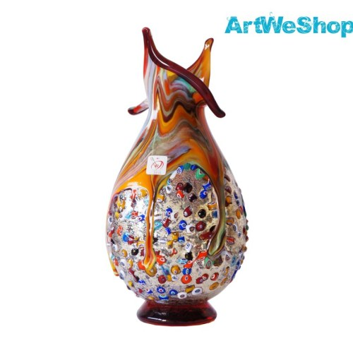 murano glas vasen