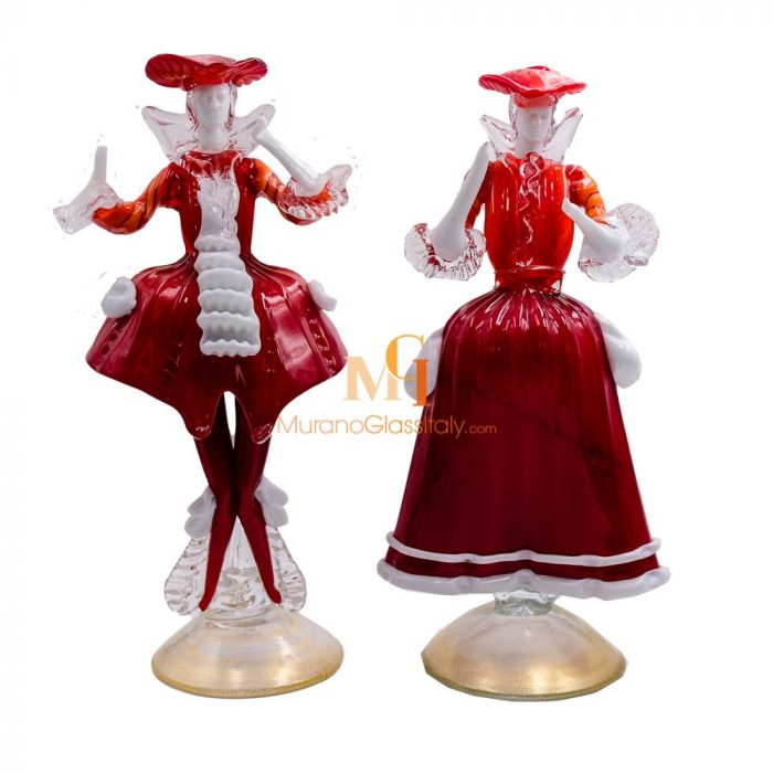 italian glass figurine