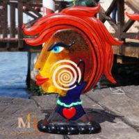 modern glass sculpture Badioli