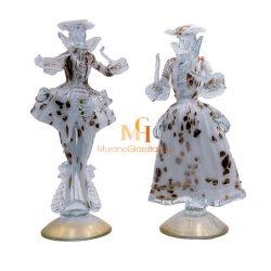 Veneziani Couple - 意大利手工玻璃雕塑