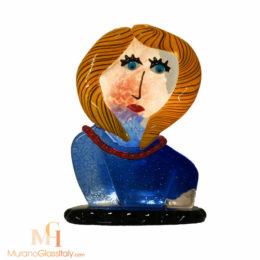 sculpture tete de femme