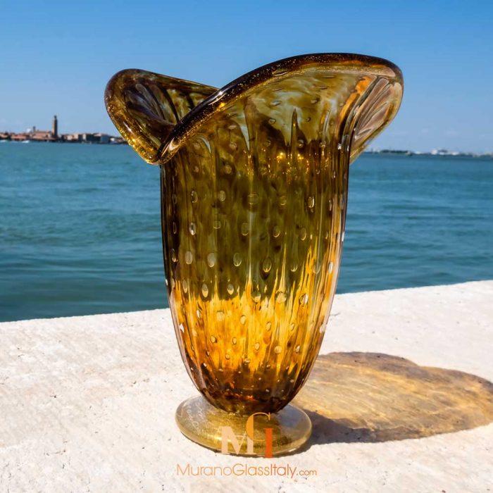 Venetian glass vase