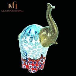 Murano glass elephant