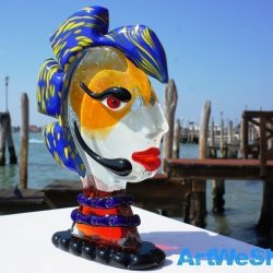 venetian glass sculpture