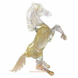 murano golden horse