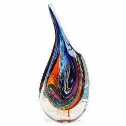 murano millefiori vase