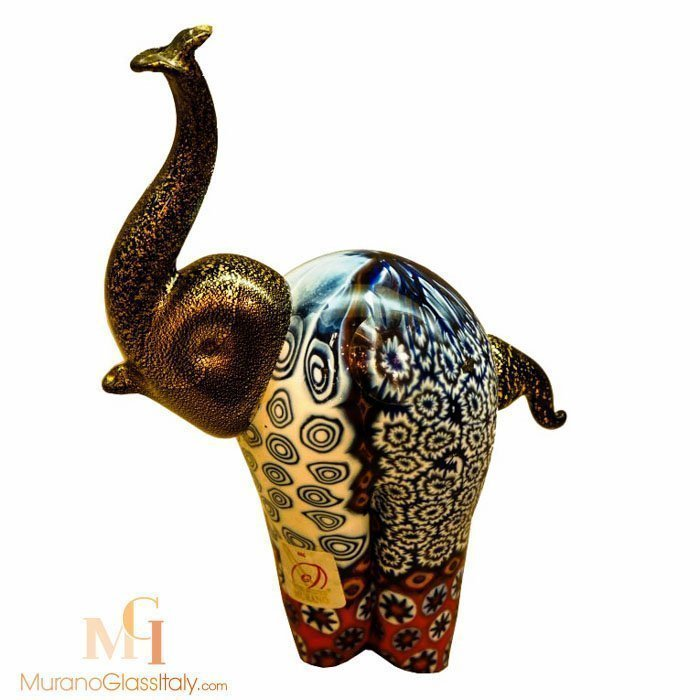 Murano glass elephant