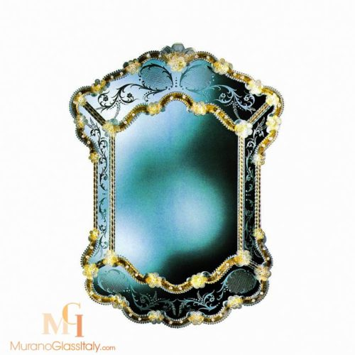 italian glass mirror