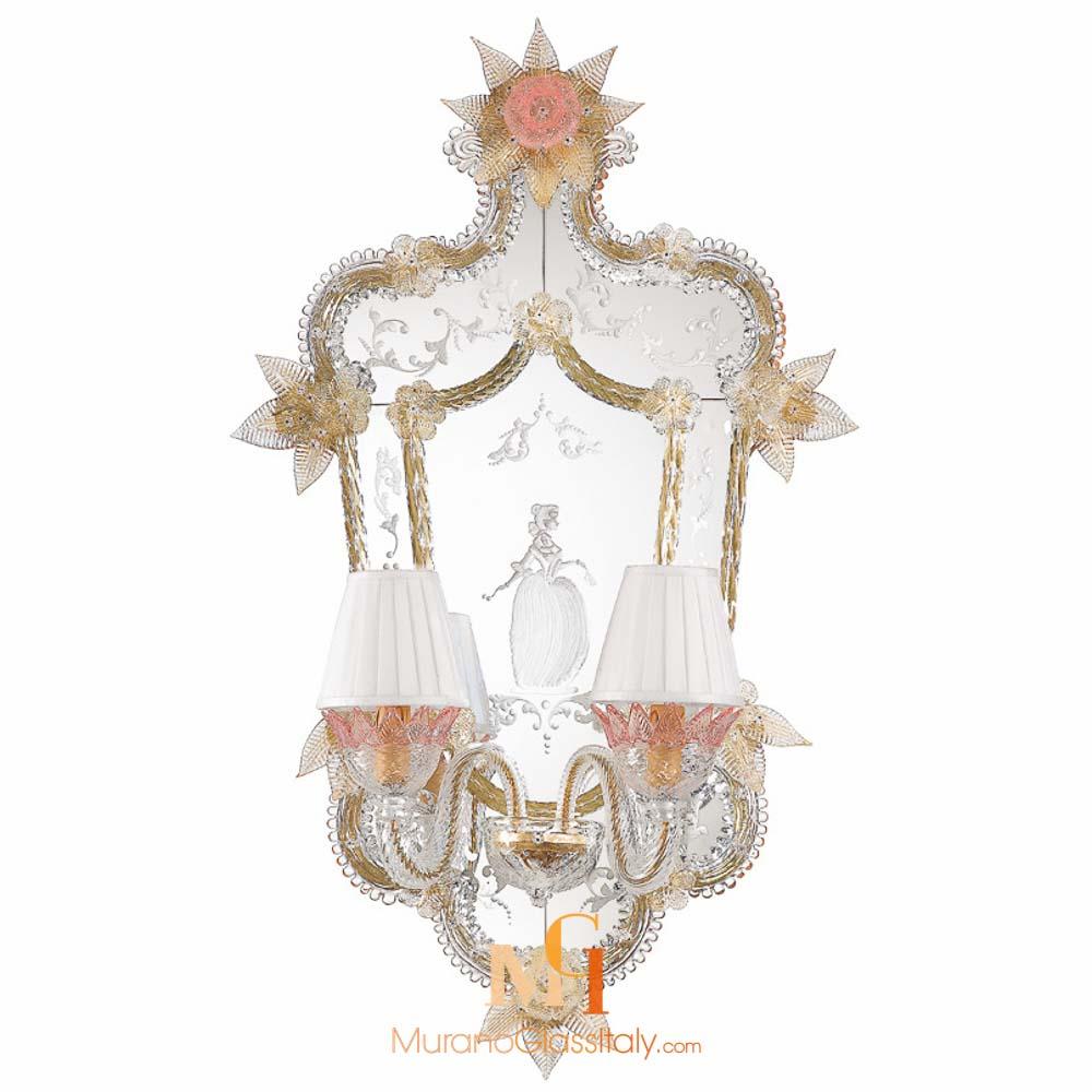 miroir venitien murano