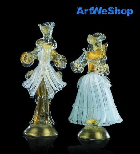 figurine in vetro di Murano