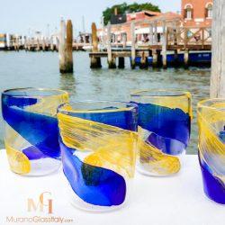 italienische gläser bunt