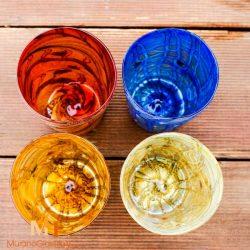 italian drinking glass