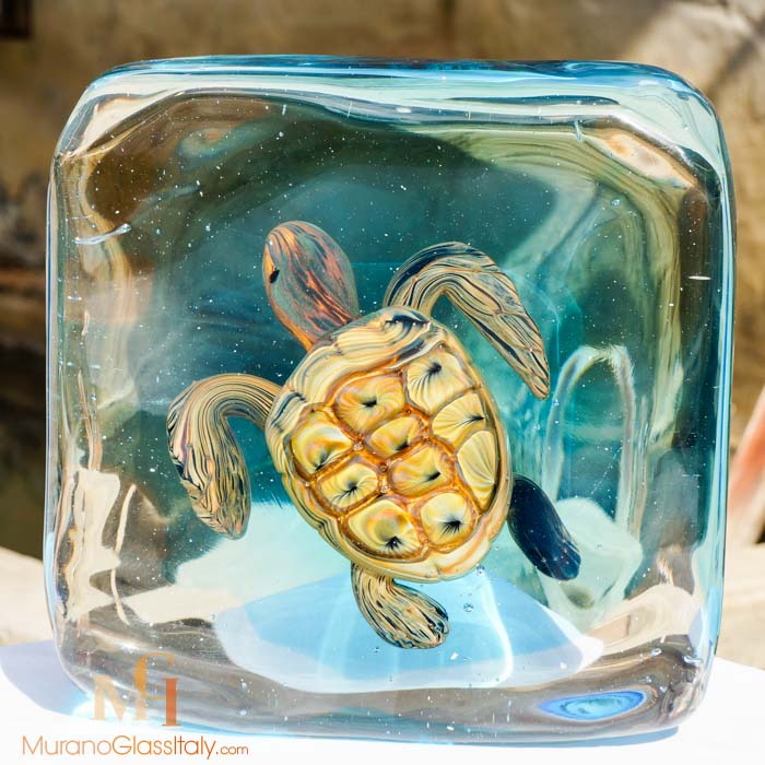aquarium turtle front muranoglassitaly. Black Bedroom Furniture Sets. Home Design Ideas
