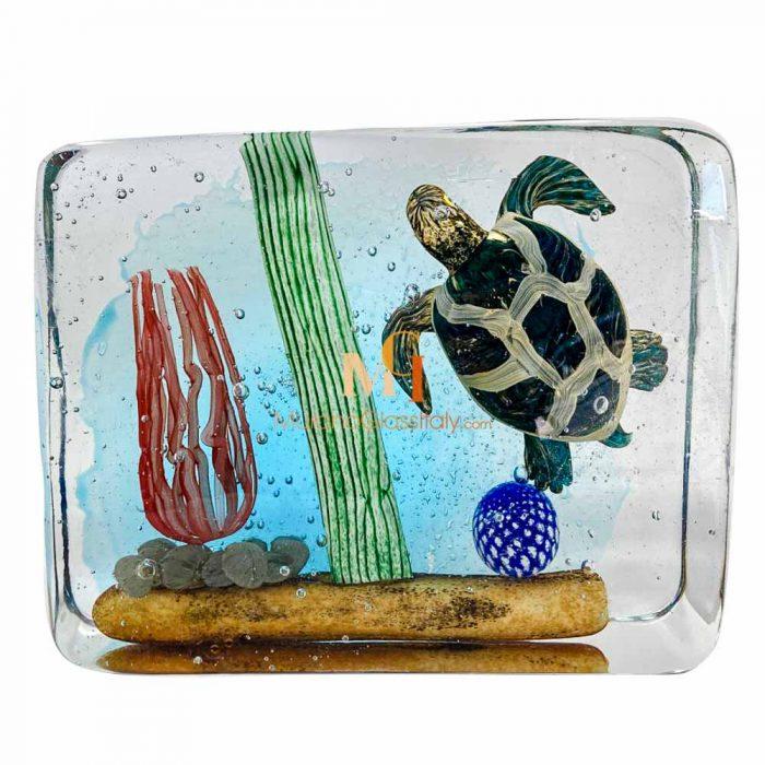 animaux en verre de murano