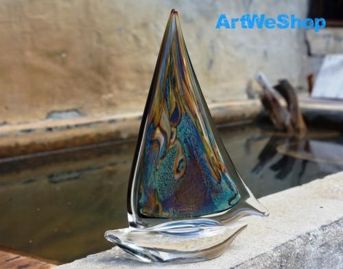 italian glass boat