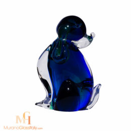 italian glass dog