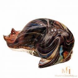italian glass cat