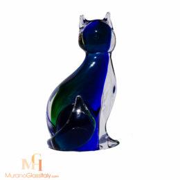 chat en verre