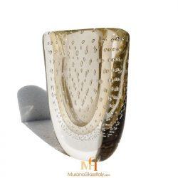 italian glass vase