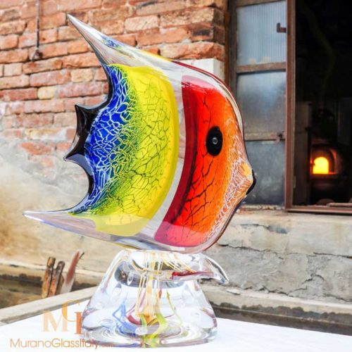 italian glass fish