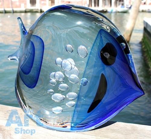 poisson en verre soufflé
