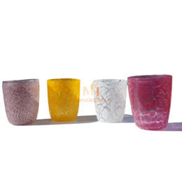 murano drinking glass sets