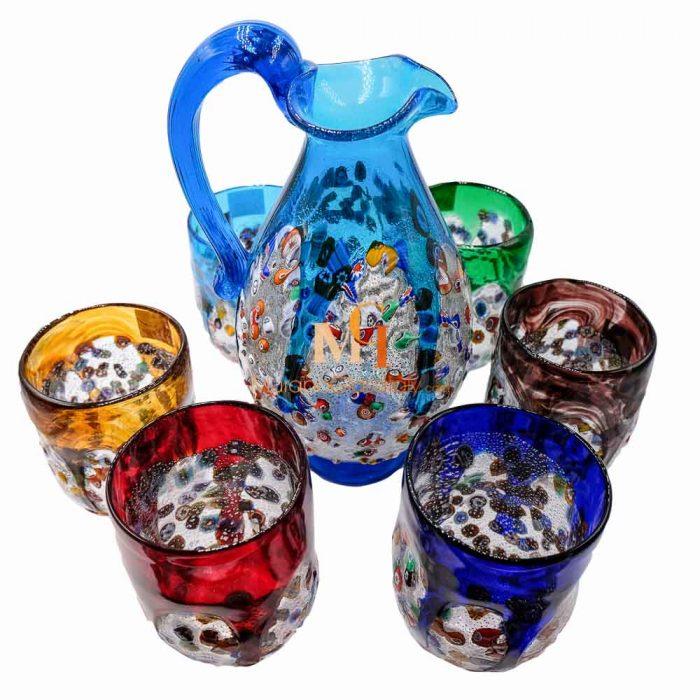 威尼斯手工玻璃杯组