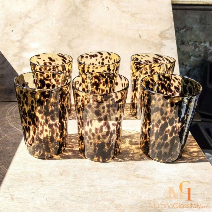 buy murano drinking glasses