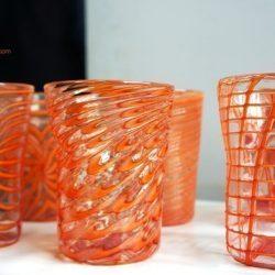murano glass drinking glasses