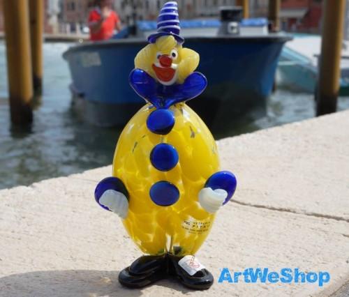 glas clown murano