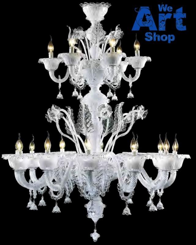Classic Venetian Glass Chandelier
