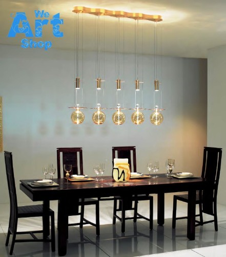 Amber – Italian Glass Chandelier