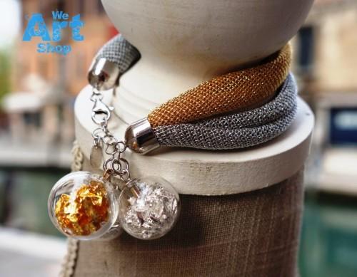 murano glas armband