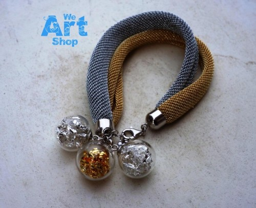 bracelet en verre de murano