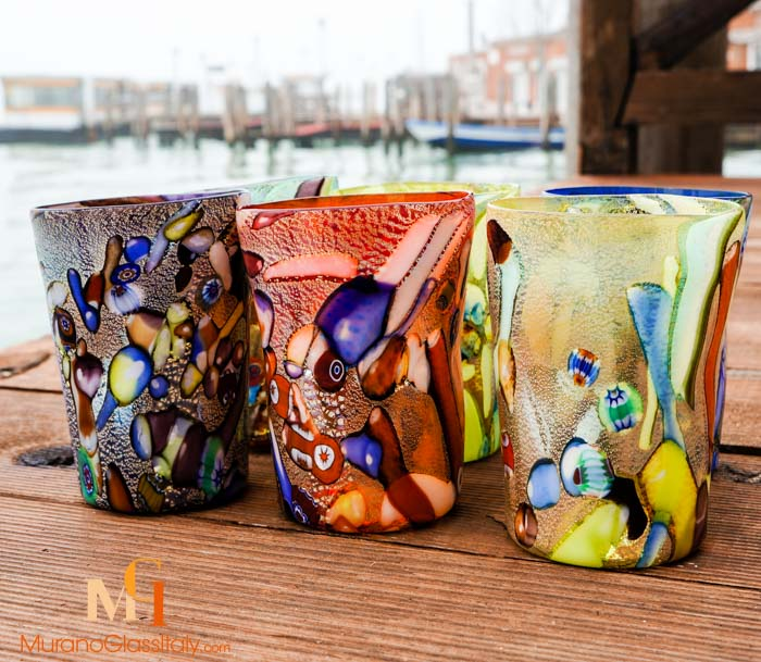 venetian water glasses