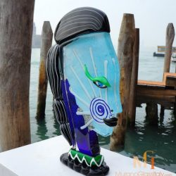 Murano Glass Face