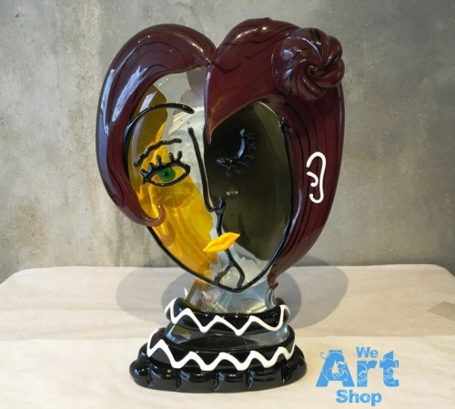Picasso Face Sculpture