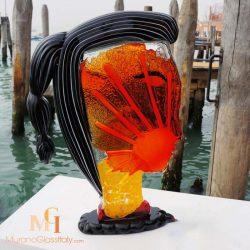 Murano Glass Picasso Head