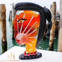 Murano Glass Picasso Head